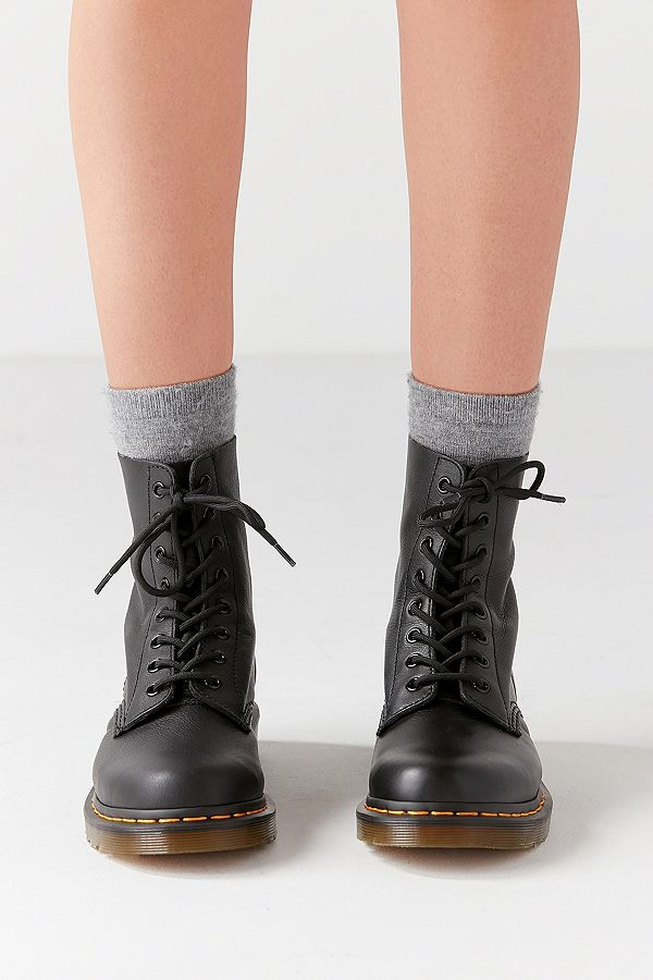 online store website for discount buy good Dr. Martens Pascal 8-Eye Black Boots