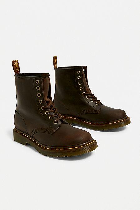 b800e7d6f96c Dr. Martens 1460 Brown 8-Eyelet Boots