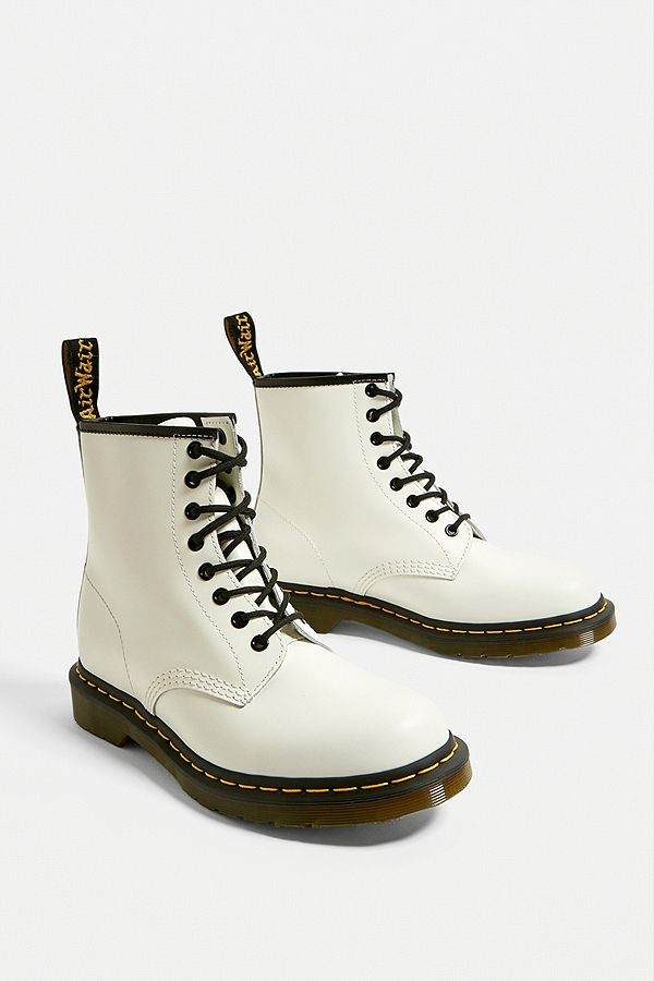 pre order diversified latest designs big collection Dr. Martens 1460 White Smooth 8-Eyelet Boots