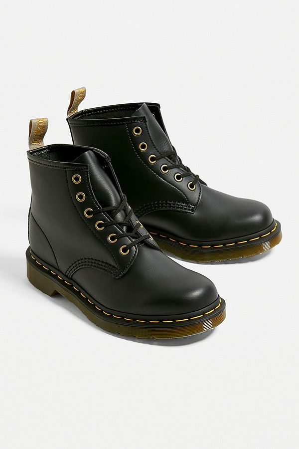 d8c066cc764 Dr. Martens 101 Vegan 6-Eyelet Boots