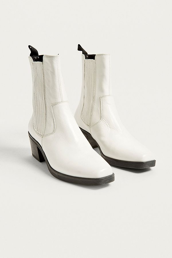361a868541a Vagabond Simone White Cowboy Boots