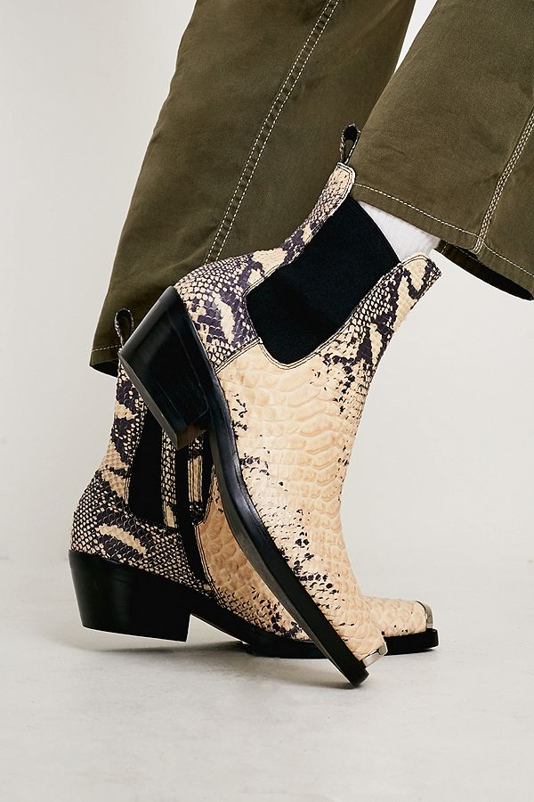 new concept ceb2f 633d1 Jeffrey Campbell Poker Snake Boots