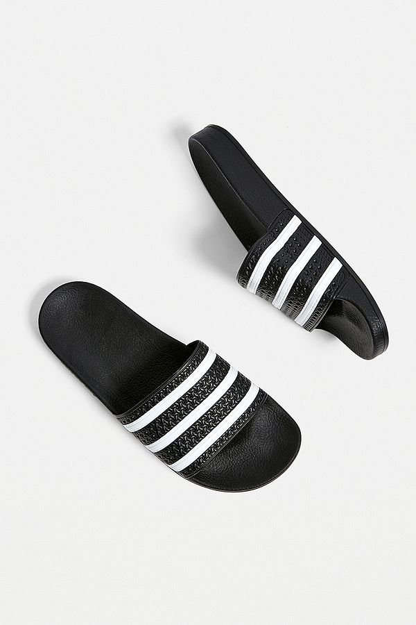 0cdbba280 adidas Originals Adilette Black Pool Sliders