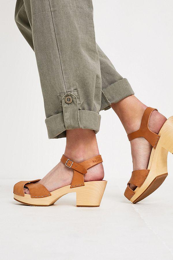 SandalenSandaletten in hell braun