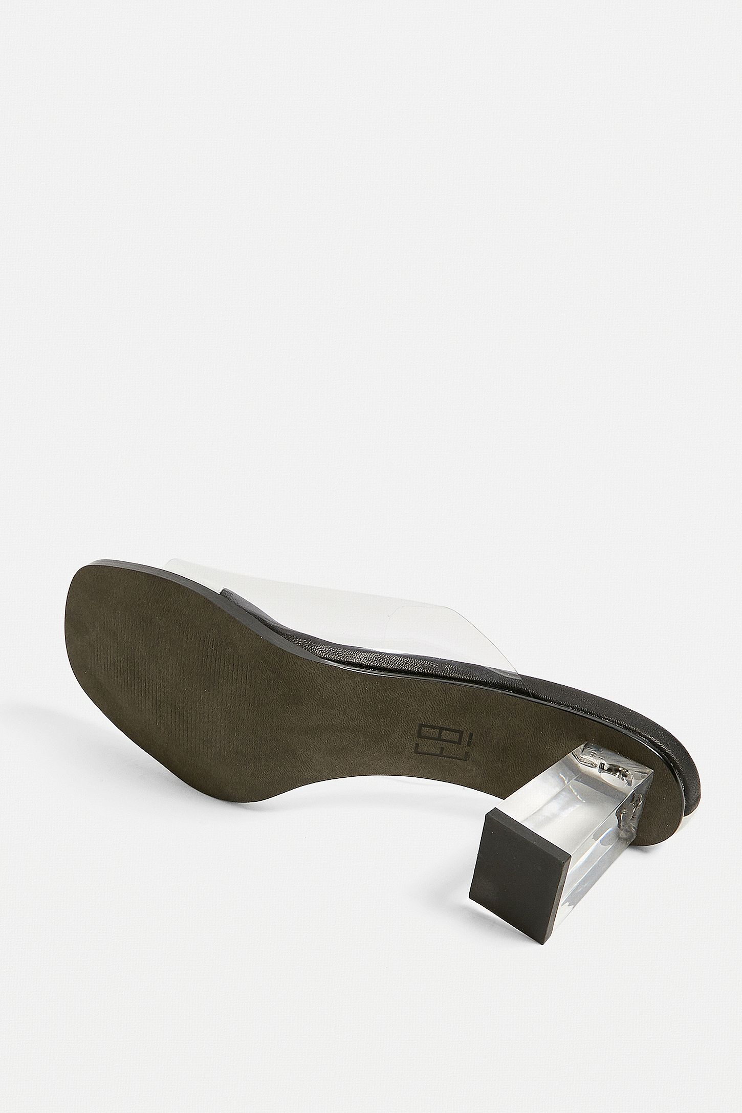 ff65386a08 Double Tap to Zoom. Slide View: 4: E8 By Miista Rita Clear Vinyl Mules
