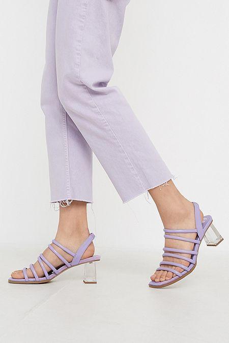 f8c32496c6c E8 By Miista Claris Lilac Strappy Heeled Sandals