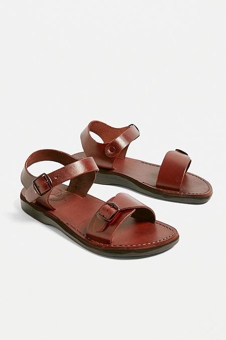 ce8eb355b230 Jerusalem Sandals The Original Brown Sandals