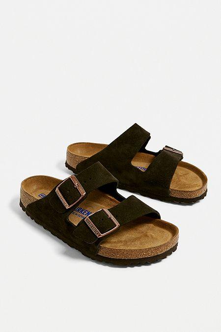 b2ebf9e95eb7 Birkenstock Arizona Tan Suede Sandals