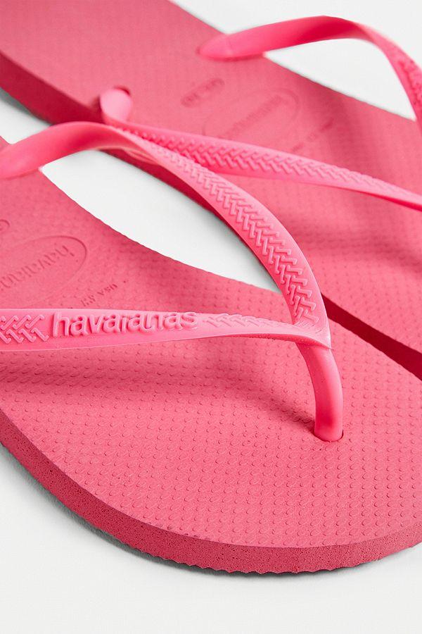 b4bb756f719dad Slide View  3  Havaianas Slim Shock Pink Flip-Flops