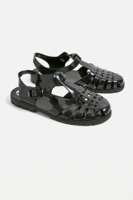 7fcf86c718c JuJu Reilly Black Jelly Sandals