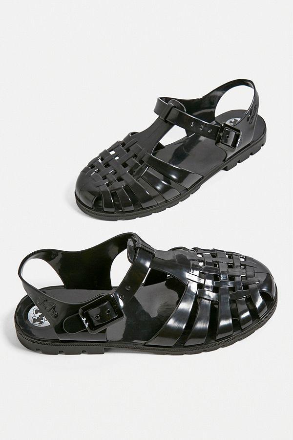 e66bbc4321d Slide View  2  JuJu Reilly Black Jelly Sandals