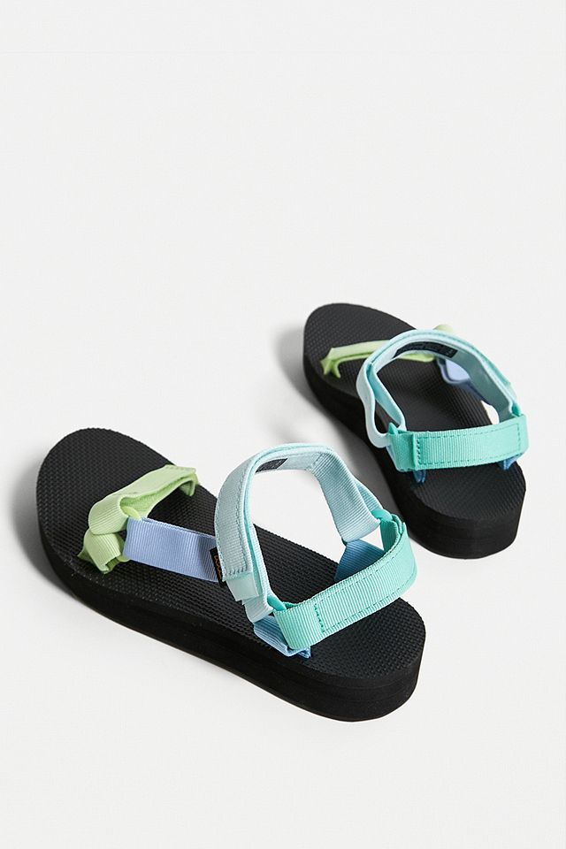 Teva Universal Green Midform Sandals urban outfitters