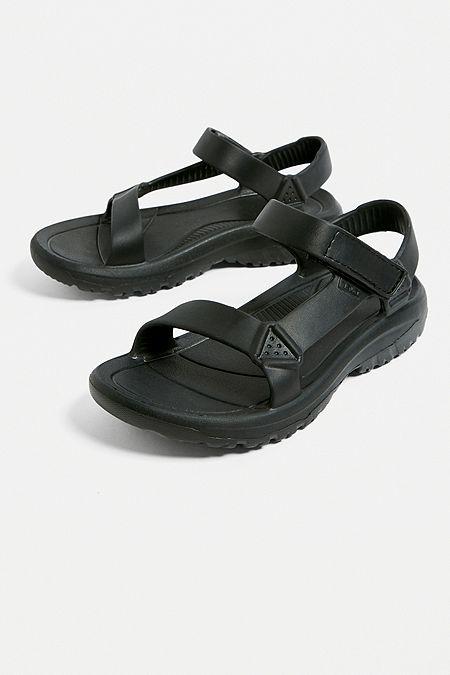 3a2a00e0b0e9d Teva Hurricane Drift Black Sandals
