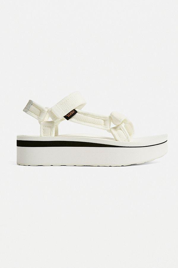 5f4e1a76afe1 Slide View  3  Teva Universal White Mesh Flatform Sandals