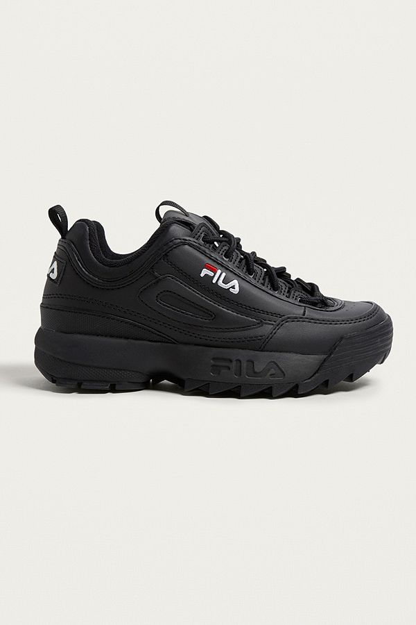FILA Disruptor Women's Core Black Trainers