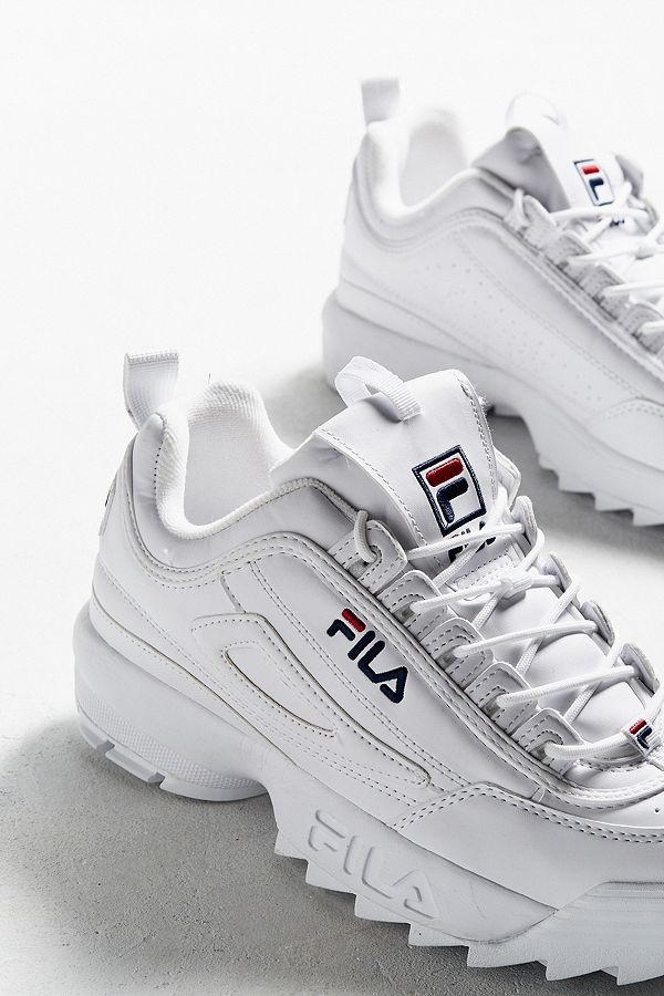 FILA Disruptor Women's Core White Trainers