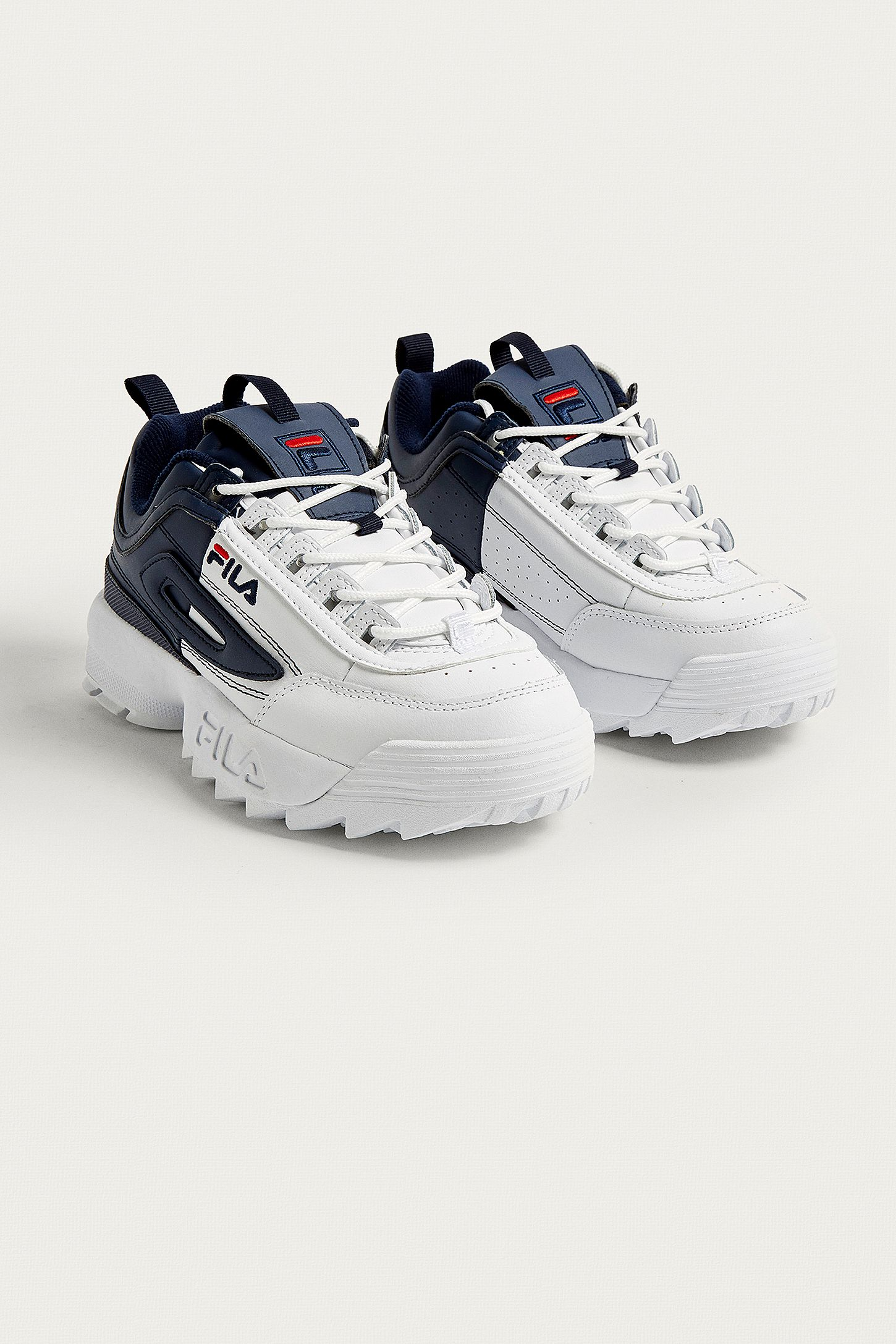 e2f84acd87e FILA Disruptor II Premium Split Trainers. Click on image to zoom. Hover to  zoom. Double Tap to Zoom