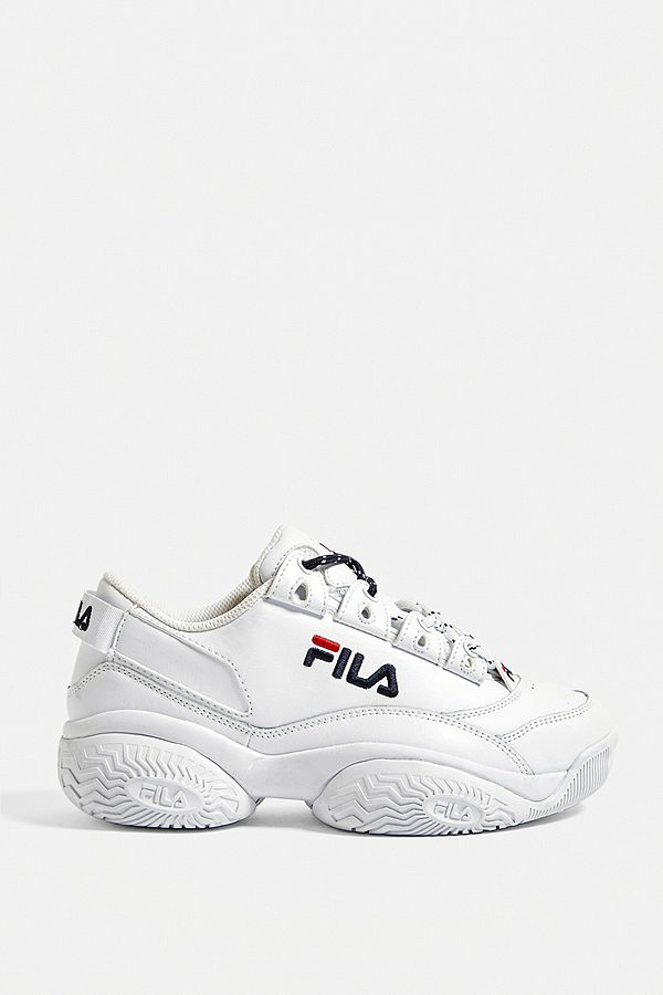 FILA Provenance White Trainers