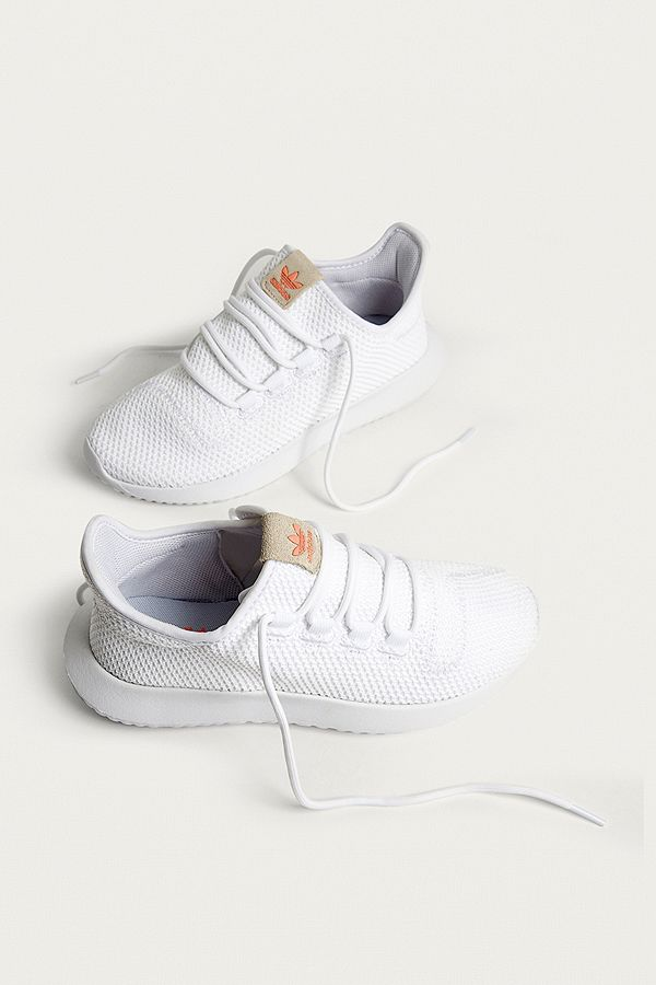 5817aa049e0f adidas Originals Tubular Shadow White Trainers