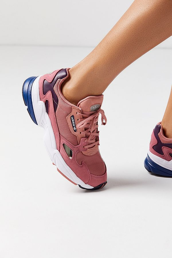 9305789a7c26 adidas Originals Falcon Raw Pink Trainers