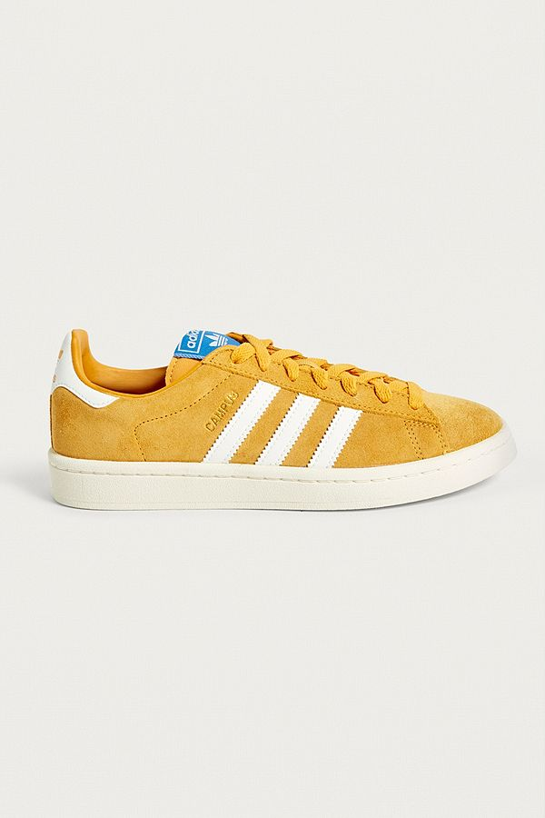 f11a16bb8 adidas Originals Campus Yellow Suede Trainers