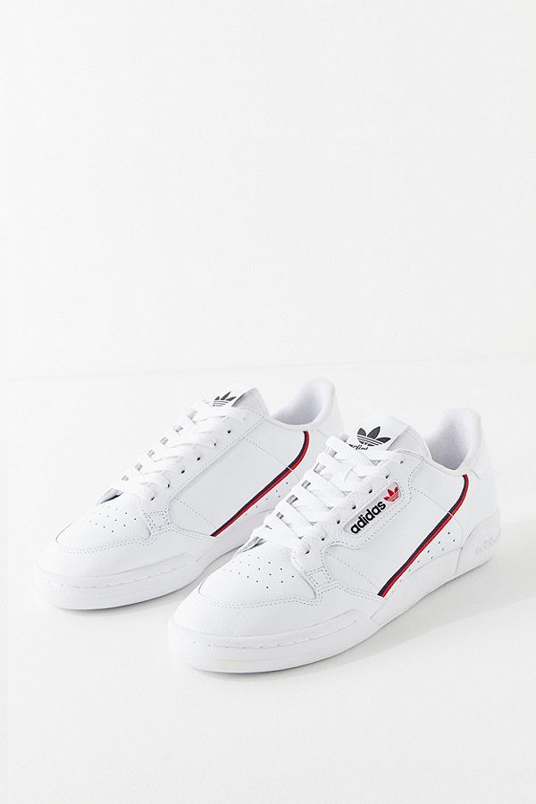 668b73f55 adidas Originals Continental 80 White Trainers | Urban Outfitters UK