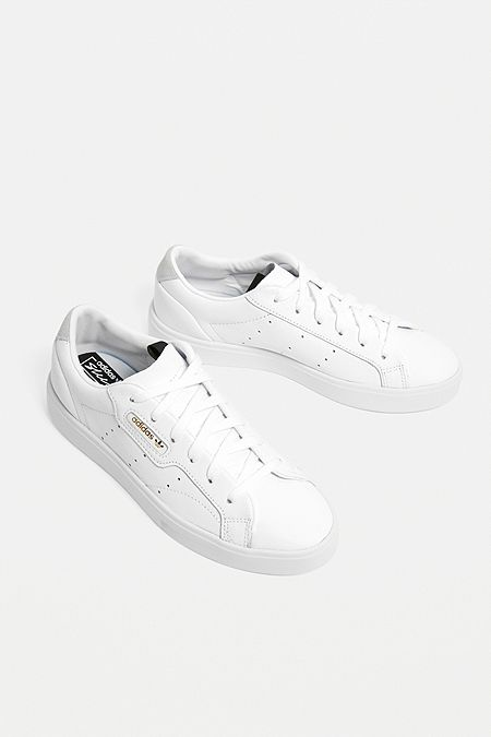 bdcf26324105 adidas Originals Sleek White Trainers