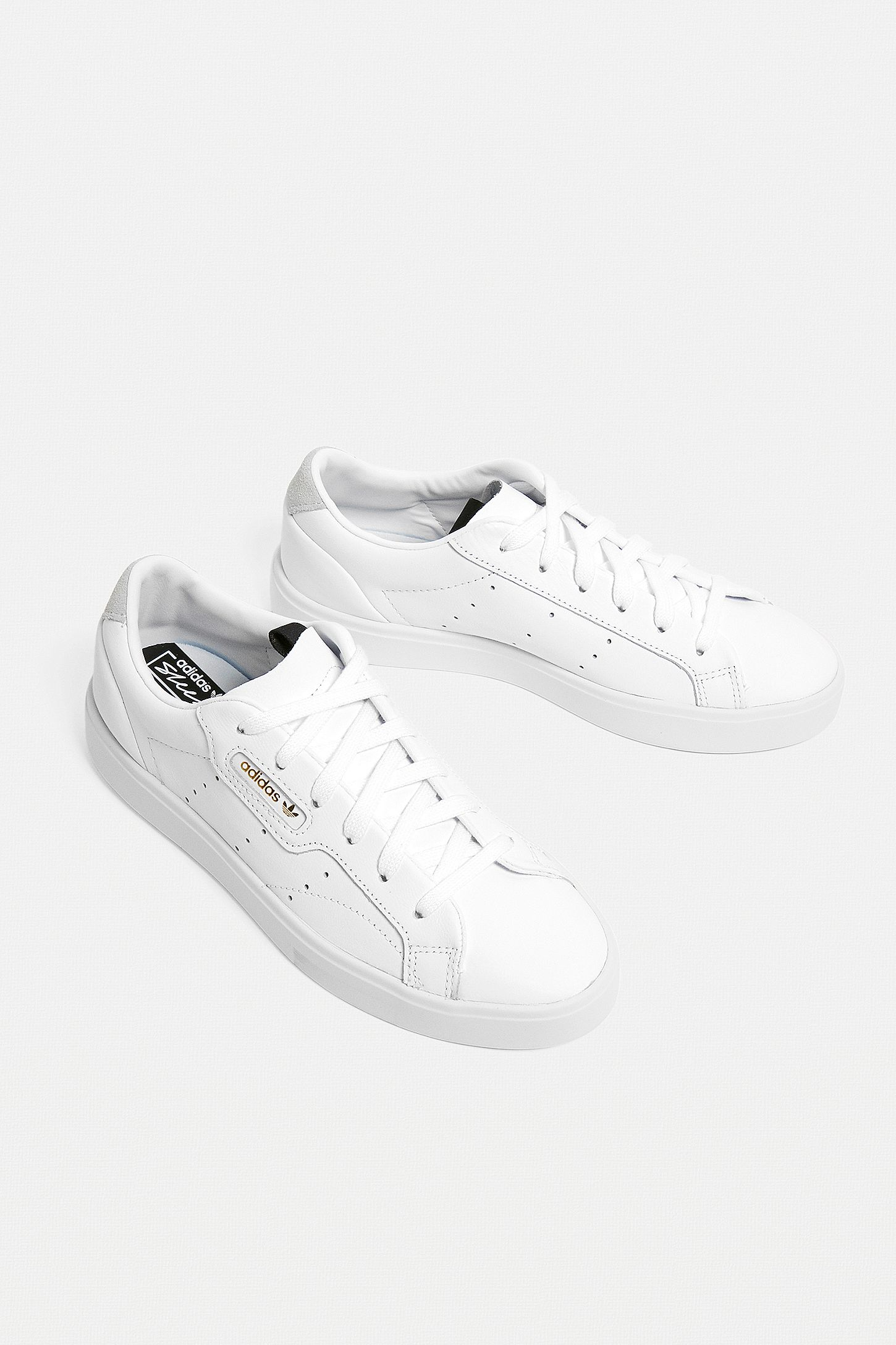 adidas Originals Sleek White Trainers