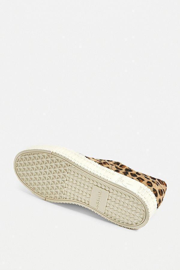 adidas Originals Samba Rose Leopard Print Trainers