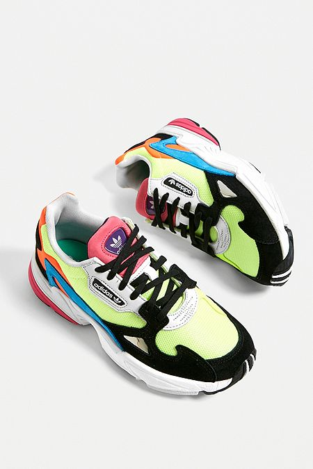 6a584706165 adidas Originals Falcon Neon Trainers