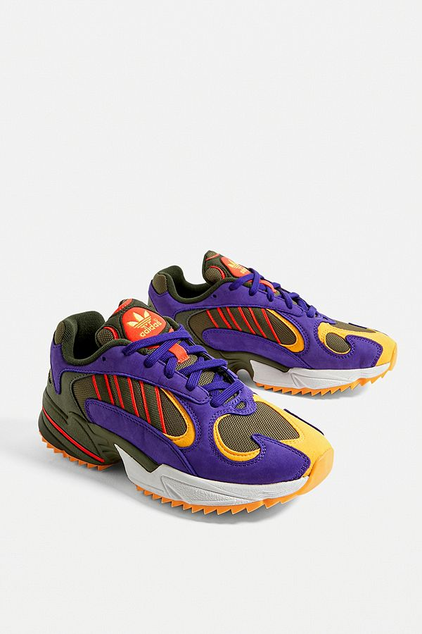 adidas Originals Baskets de trail Yung 1 couleur kaki