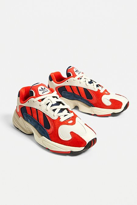 basket adidas femme rouge et blanche