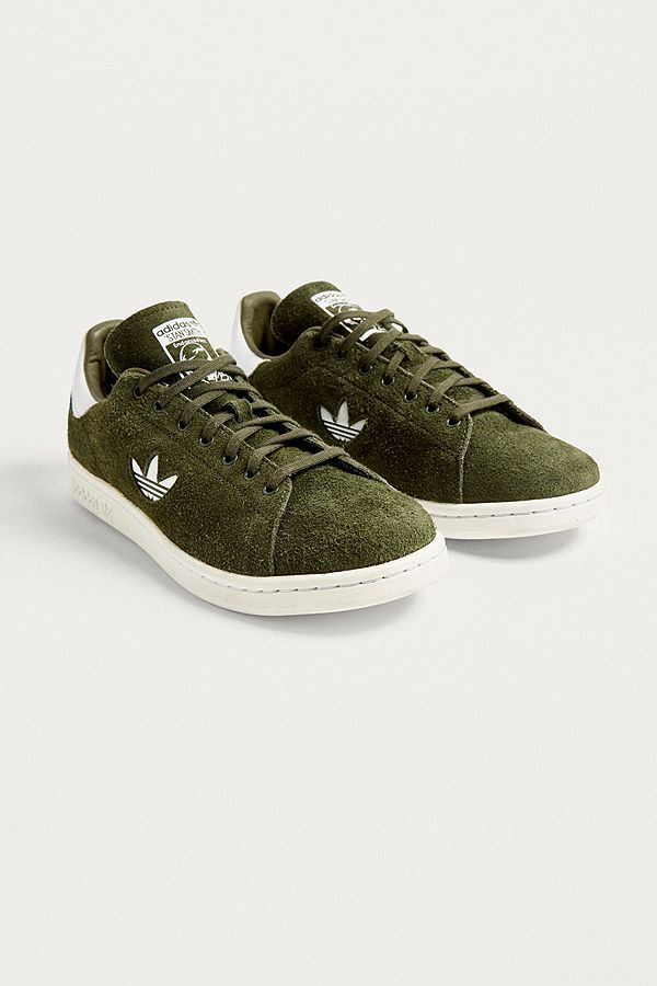 size 40 1f487 886c5 adidas Originals Stan Smith Dark Green Trainers