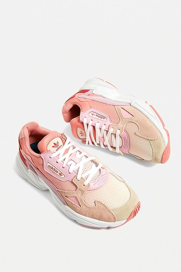 Adidas Originals Falcon Pink Trainers by Adidas Originals