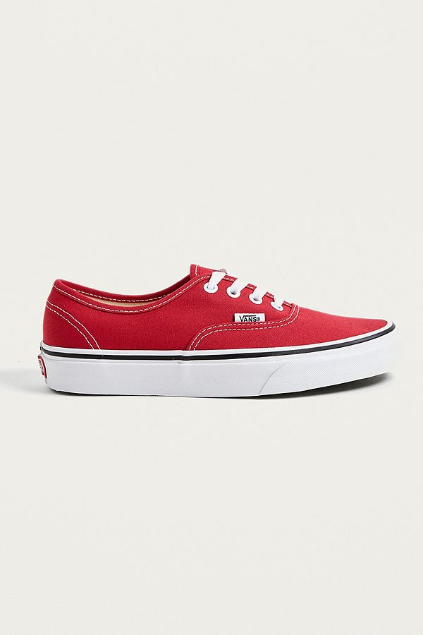 f1e9b3a46d Vans Authentic Red Trainers
