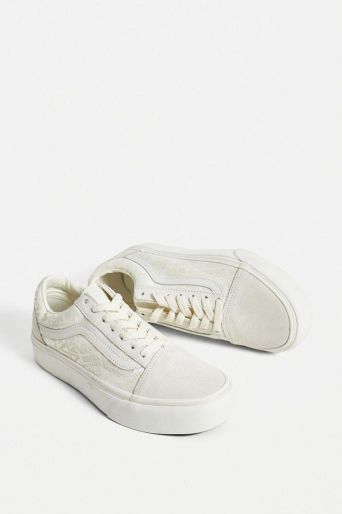 vans beige trainers