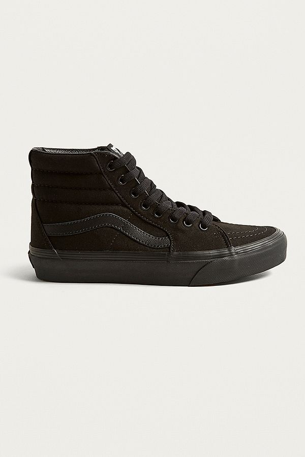 907e844f538180 Vans Sk8-Hi Black Trainers