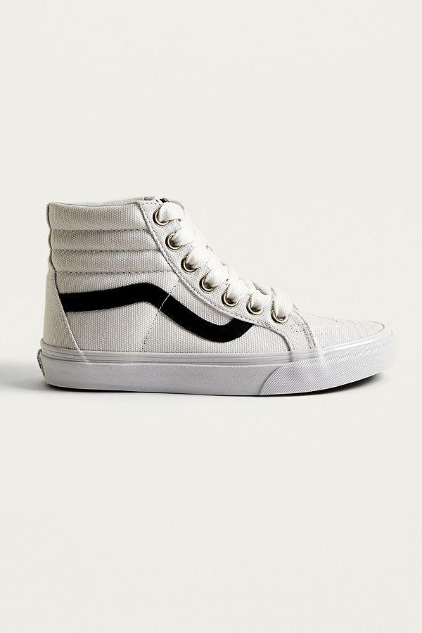 VANS, Vans Sk8 Hi Reissue 1966 Sneaker, weiß | mirapodo