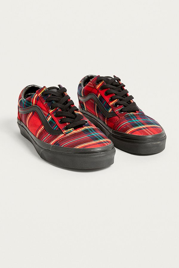 discount collection outlet boutique select for original Vans Old Skool Tartan Plaid Trainers