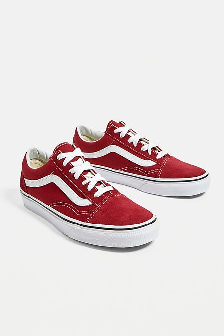 1579e32144 Vans Old Skool Rumba Red Trainers