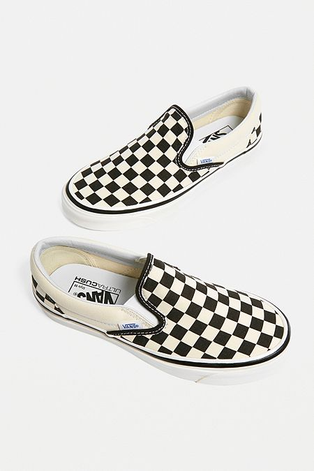 17db7ecf41 Vans Anaheim Factory Checkerboard Slip-On Trainers