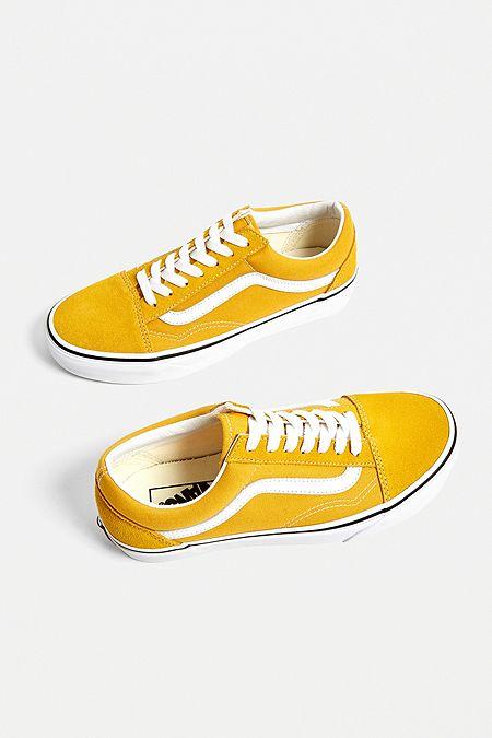 c73678fa548 Vans Old Skool Yellow Trainers
