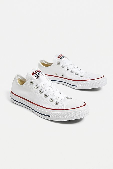 e12c211f5b Converse Chuck Taylor All Star White Low Top Trainers