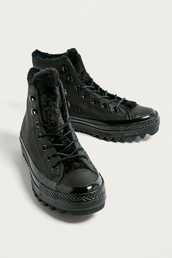 d5d78ee62ea954 Converse Chuck Taylor All Star Lift Ripple Boots