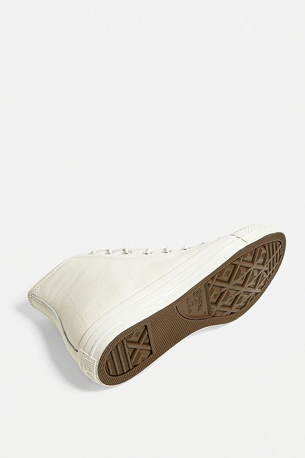 Converse Chuck Taylor All Star Leather High Top Trainers