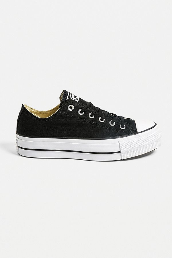 Converse Chuck Taylor All Star Lift Black Low Top Trainers