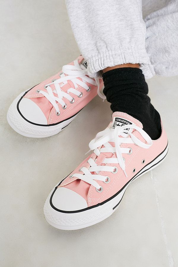Converse Chuck Taylor All Star Ox Pink Low Top Trainers