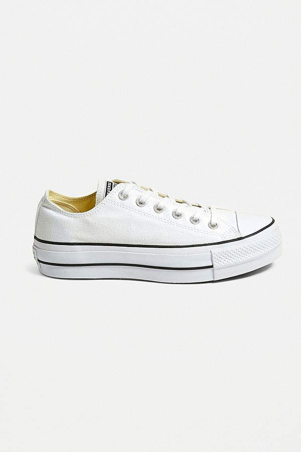 Converse Chuck Taylor All Star Lift White Low Top Trainers