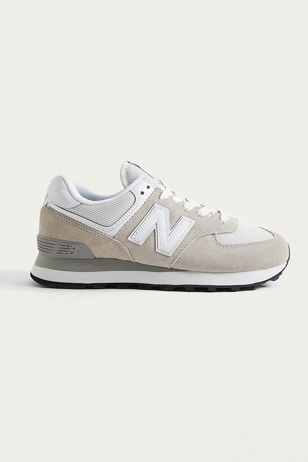 New Balance WL 574 Off White Trainers
