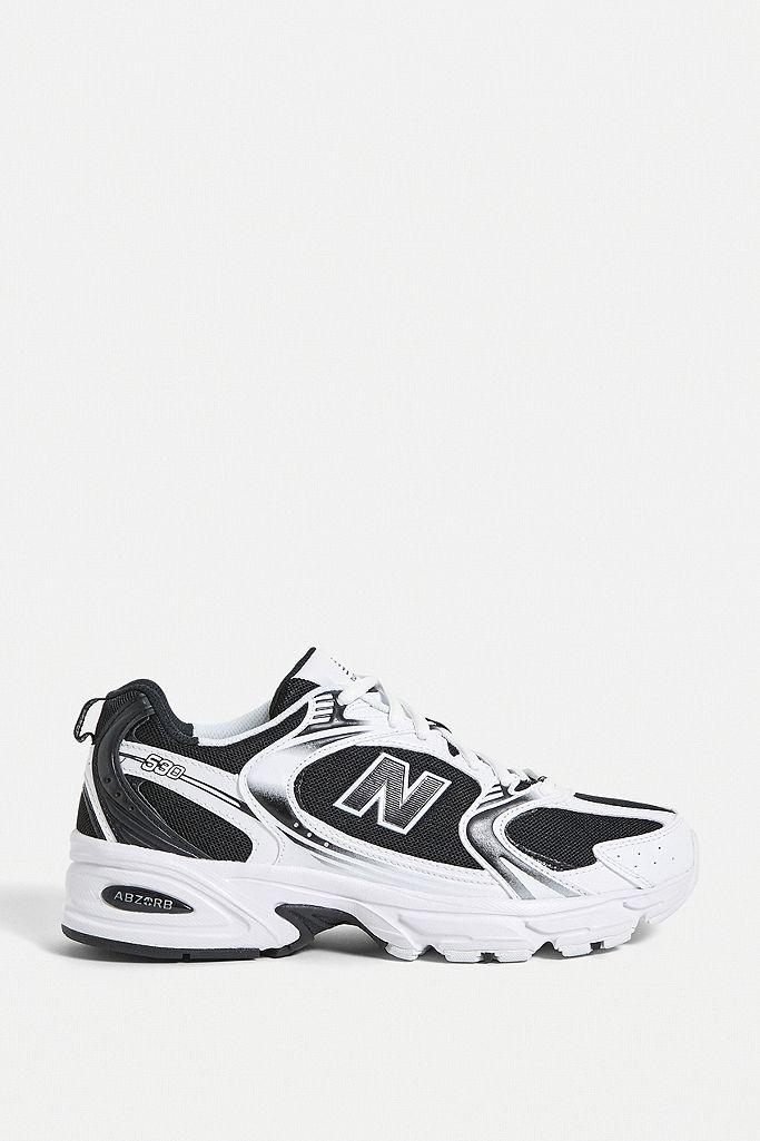 """New Balance – Sneaker """"530"""" in Schwarz-Weiß"""